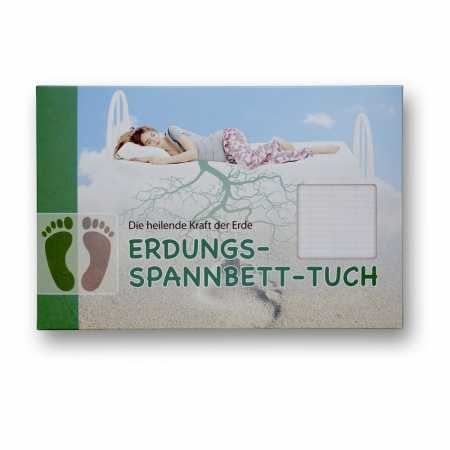 Erdungsprodukte® Fitted Sheet 90x200 cm